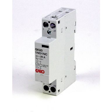 Garo GK20 2NO 24V ACDC Kontaktor 2 slutande