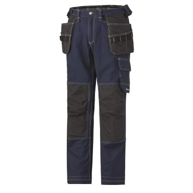 Helly Hansen Workwear Chelsea Cotton Cons Vyötäröhousut laivastonsininen/musta