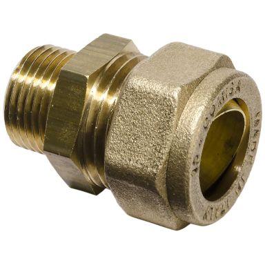 Gelia 3006155042 Klemringkobling rett, for PEX, inkl. støttehylse
