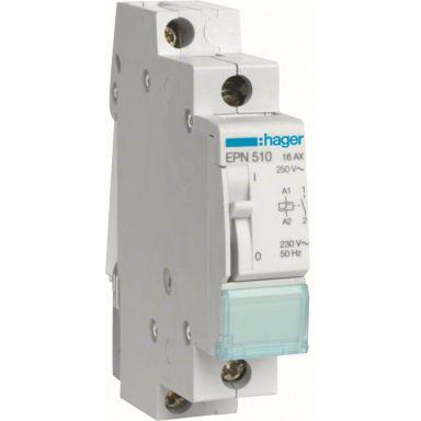 Hager EPN510 Impulsrelé 1 lukket kontakt, 230 V