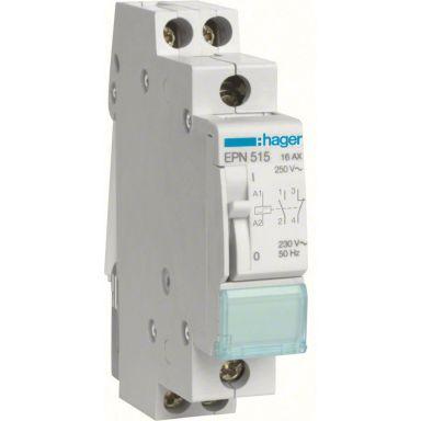 Hager EPN515 Impulsrelé 1 lukket, 1 åpen, 230 V