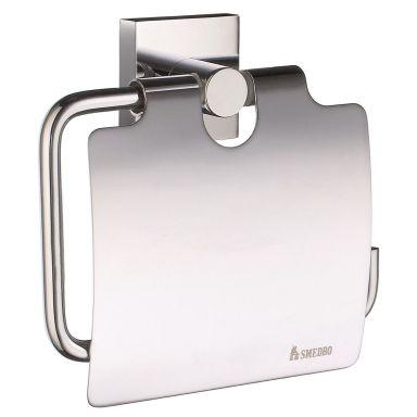 Smedbo House RK3414 Toalettpappershållare med lock