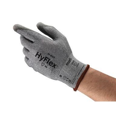 Ansell HyFlex 11-627 Handske Skärskydd, PU, Dyneema/Nylon