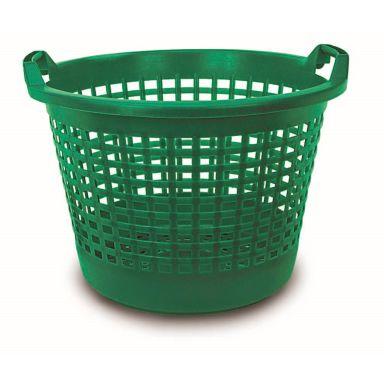 Nyby Bruk 6057 Løvkorg 45 l, grønn