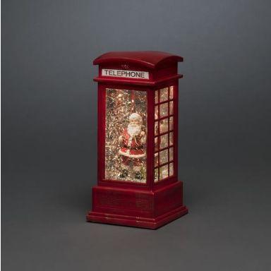 Konstsmide 4388-550 Dekorationsbelysning telefonkiosk med tomte