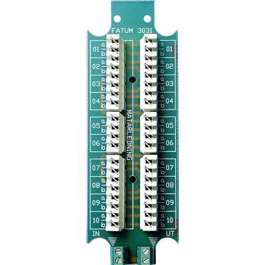 Alarmtech 3031.01 Teleplint 116 x 40 mm, LSA-profil