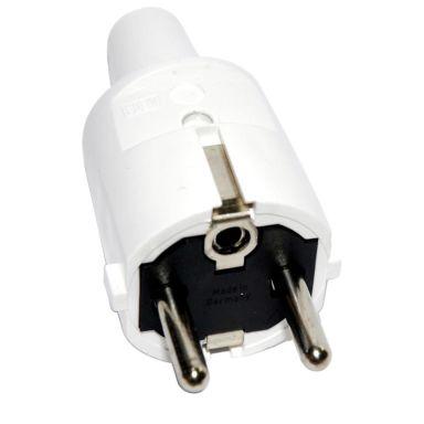 ABL 1418080 Stickpropp jordad, rak, brytskydd, vit