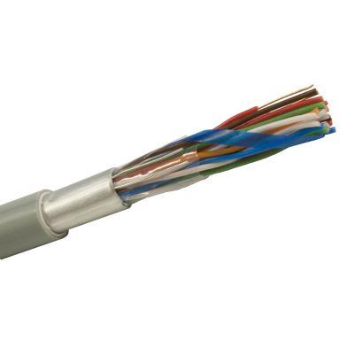 Nexans ELAQBEU Telekabel 100x2x0,5 mm, grå