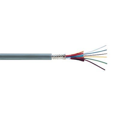 Rutab Novotronic LiYCY Elektronikkabel 7 ledare, Ø6,4 mm