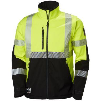 Helly Hansen Workwear ICU Softshelltakki huomioväri, keltainen/musta