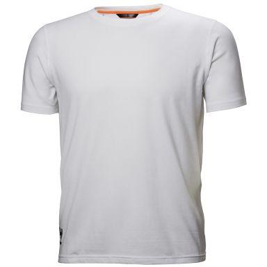 Helly Hansen Workwear Chelsea Evolution T-skjorte hvit, med ribbing