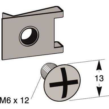 MP bolagen 866E Mutter M6 x 12 mm, med hurtigmutter