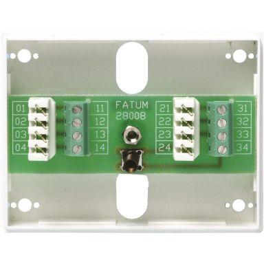 Alarmtech Fatum Mini Hälytysrasia 8-napainen, ilkivaltasuojattu kytkin