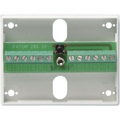 Alarmtech Fatum Mini Larmbox 10-polig, skruvmodell