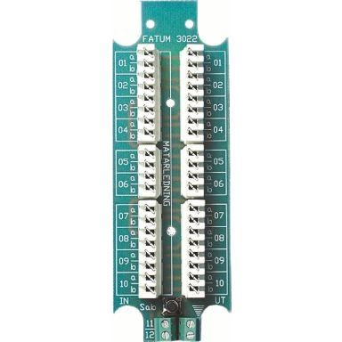 Alarmtech 3022.01 Larmplint 116 x 40 mm, LSA-profil