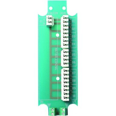 Alarmtech 3041.01 Byglingsplint LSA-profil, 10 kärnor