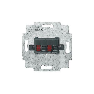 ABB 0248.00 Högtalaruttagsinsats stereo, max 10 mm²