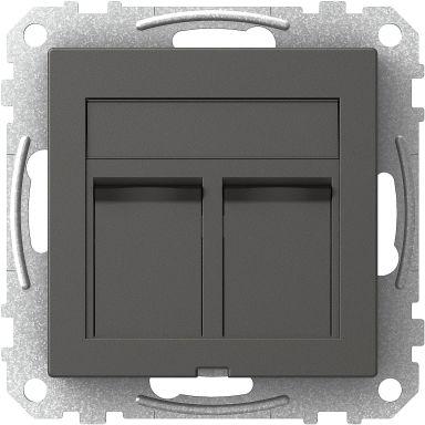 Schneider Electric WDE003434 Centrumplatta 2 x Actassi, rak