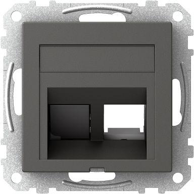 Schneider Electric Exxact Centrumplatta 73 x 72 x 27 mm, vinklad
