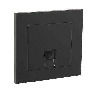 Elko Plus Modulæruttak innfelt, 1 x 8 K6