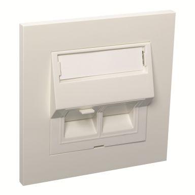 Elko EKO05557 Modulæruttak hvit
