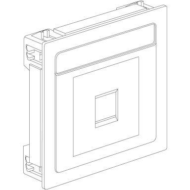 Schneider Electric 5970120 Grundsats 2 moduler, lock