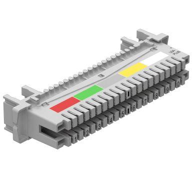 Obo Bettermann 5084008 Tilkoblingssplint for tilkobling av 10 dobbeltledere