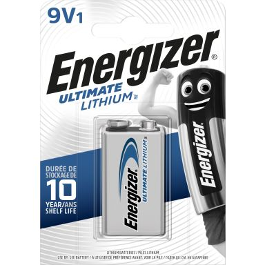 Energizer Ultimate Lithium Litiumbatteri 9 V