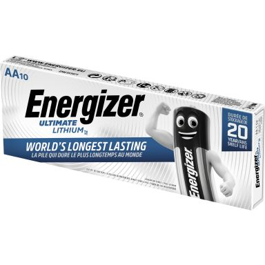 Energizer Ultimate Lithium Litiumbatteri 1,5 V, 10-pack