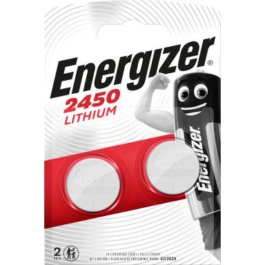 Energizer 2450 Knappcellsbatteri litium, 3 V, 2-pack