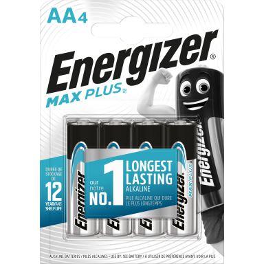 Energizer Max Plus Alkaliskt batteri AA, 1,5 V, 4-pack