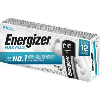 Energizer Max Plus Alkaliskt batteri AAA, 1,5 V, 20-pack