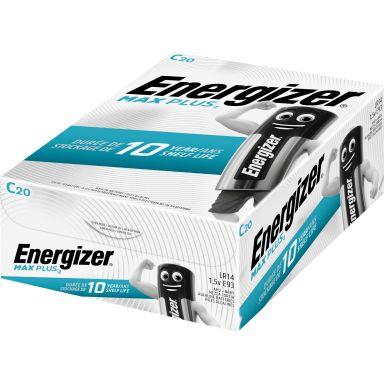 Energizer Max Plus Alkaliskt batteri C, 1,5 V, 20-pack