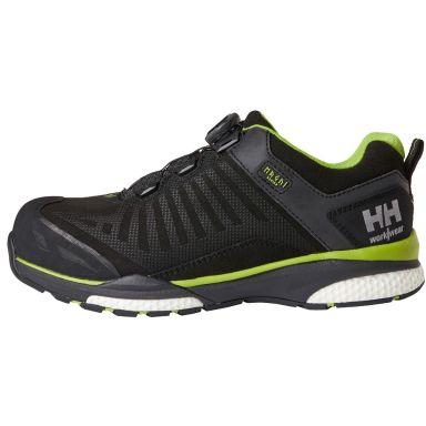 H/H Workwear Magni BOA Low Skyddssko S3, svart, aluminiumhätta