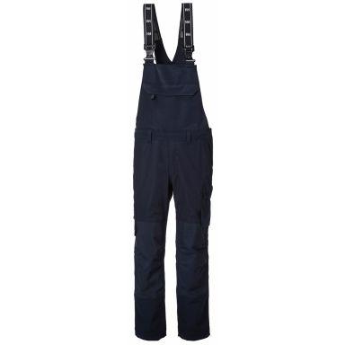 Helly Hansen Workwear Oxford BIB Arbetsbyxa marinblå, med hängslen