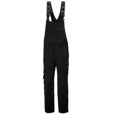 Helly Hansen Workwear Oxford BIB Arbetsbyxa svart, med hängslen