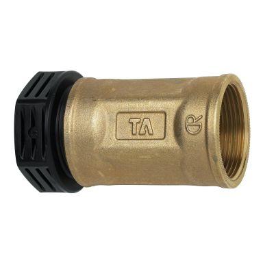 TA 3004018022 PEM-kobling metall, rett, plast-innv gg