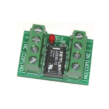 Teletec Connect REL2 Reläkort 2-poligt växlande