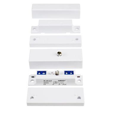 Alarmtech MC 440-2x3,3K Magneettikytkimet sisäänrakennetut vastukset