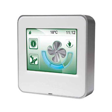 FläktGroup ISYteq Touch Kontrollpanel för värmeåtervinningsaggregat