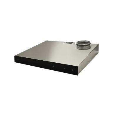 Swegon CASA Jazz Smart PJR6L Spiskåpa rostfritt stål, 598 x 99 x 525 mm