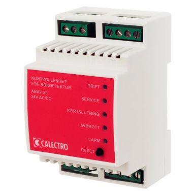 Calectro ABAV-S3-24V Kontrollenhet för rökdetektor