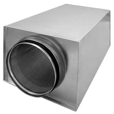 Grundström TOKC-100-1000 Ljuddämpare rund anslutning