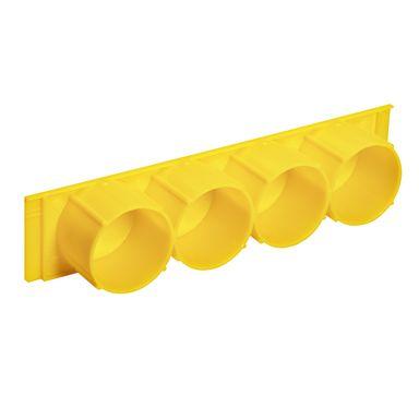 Schneider Electric 5197755 Röradapter 4 enheter, gul