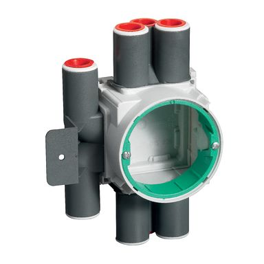 Schneider Electric IMT36203 Kopplingsdosa för regelvägg, c/c 60 mm