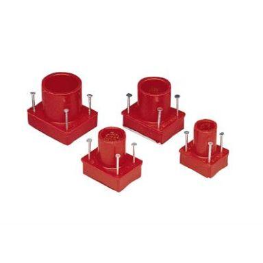 ABB AJI6 Läpivientiholkki lukiteliimalla, lämpömuovia