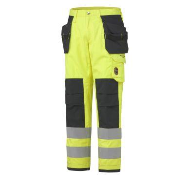 Helly Hansen Workwear Aberdeen Arbetsbyxa varsel, gul/granitgrå