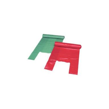 Polynova Nissen 6000021 Källsorteringspåse 15 l, grön, 25/rulle