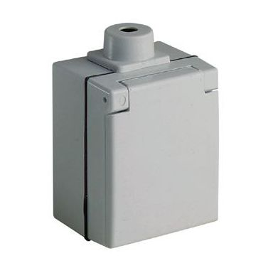 ABL 2408028 Vegguttak Perilex, kaplat, IP44
