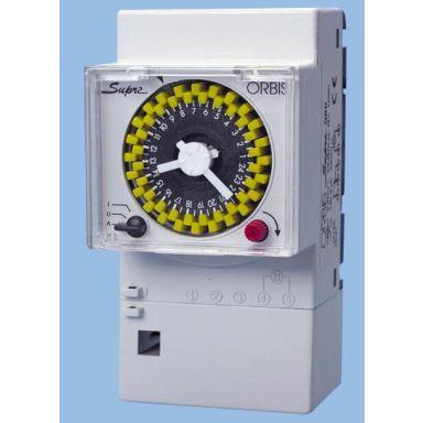ORBIS 290232 Kopplingsur för normkapsling, 3 moduler